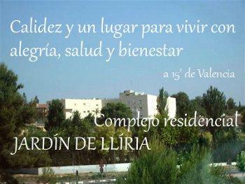 Las mejores residencias geriatricas de lliria zona oeste for Centro de salud ciudad jardin badajoz